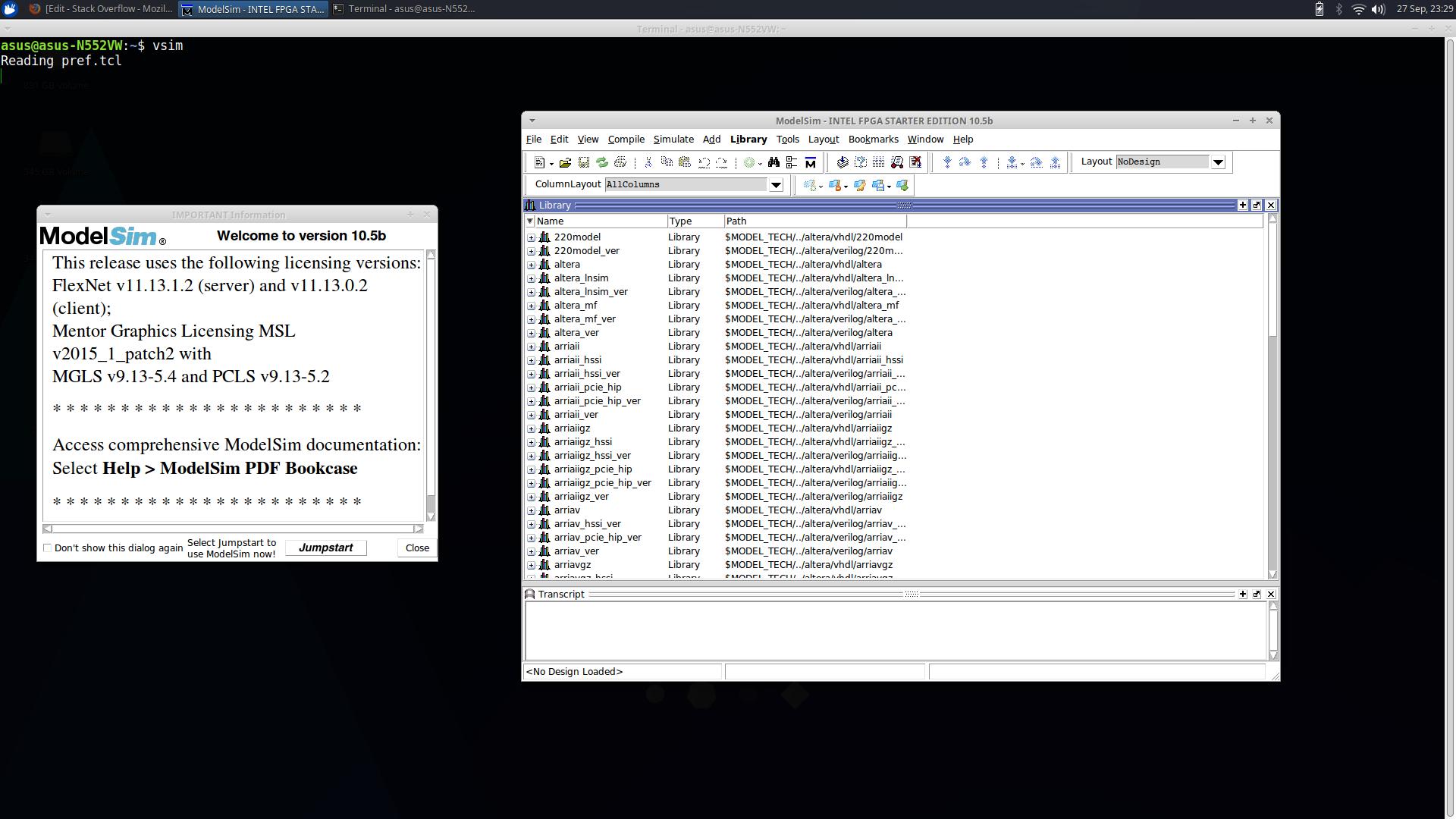 Not having EDA tool options in Quartus 16 1 - Stack Overflow