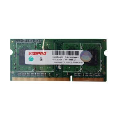 MEMORY SODDIM VISIPRO DDR3 2GB