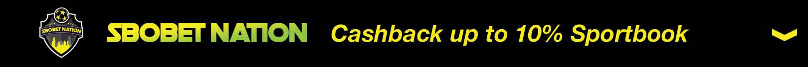 Bonus Cashback up to 10% Sportsbook