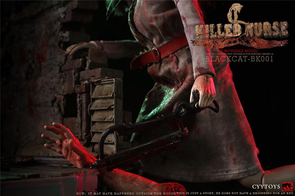 horror - Blackcat-BK001 - Killer Nurse CYY Toys (Viewer Discretion is Advised) 02