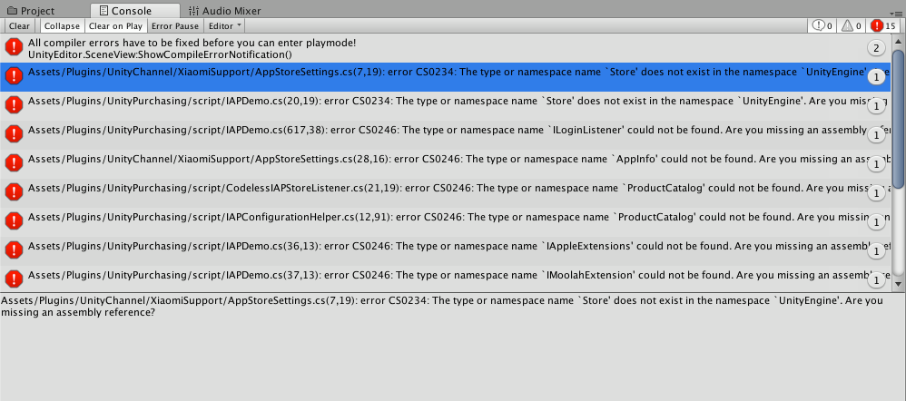 IAP service showing errors when compiling, only on Mac