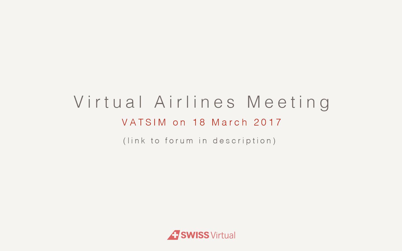 [VATSIM] VA-Meeting LSZH VA_meeting