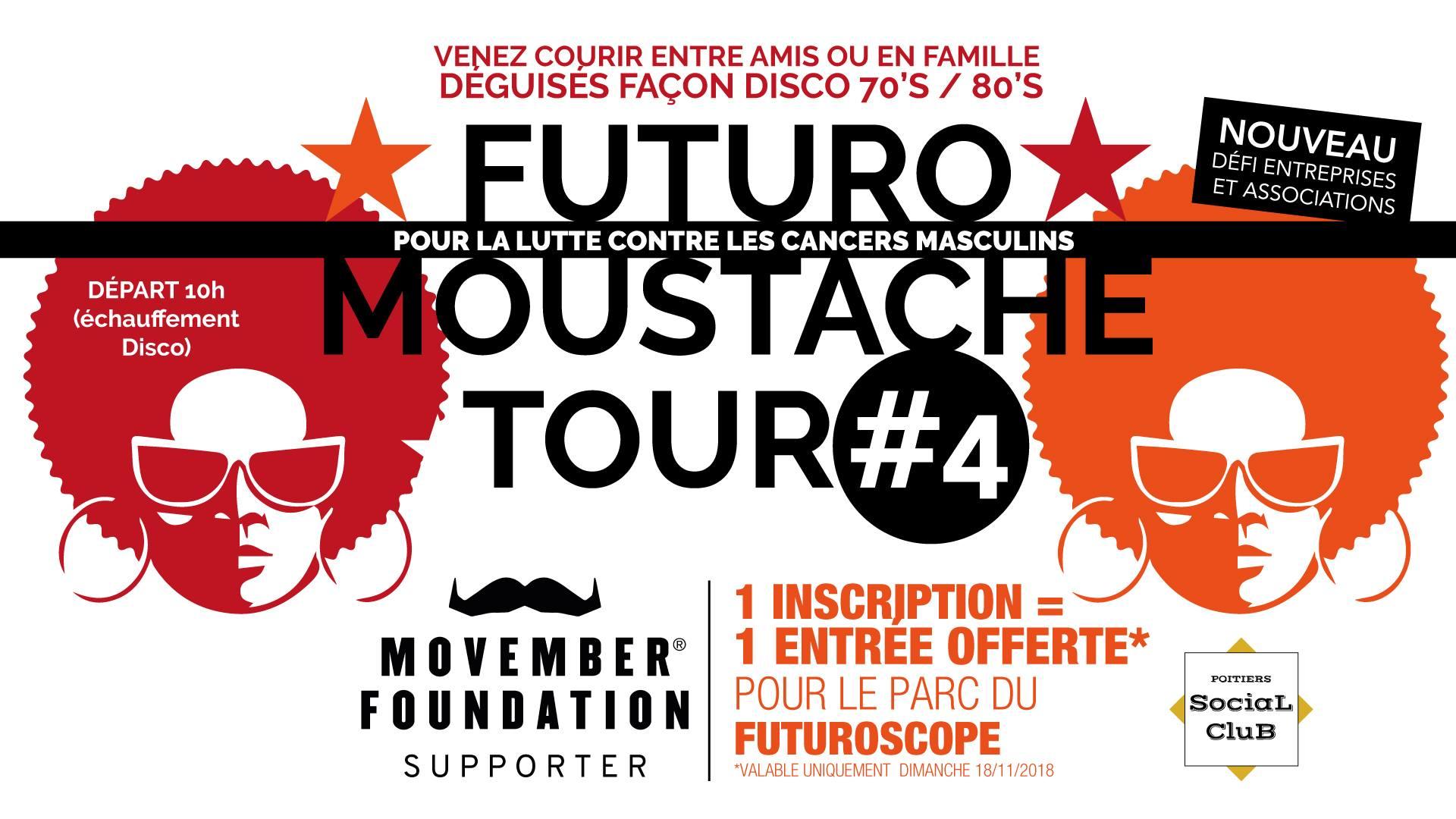 dimanche 18 novembre 2018 – Futuro Moustache Tour N°4 #Movember FMT4