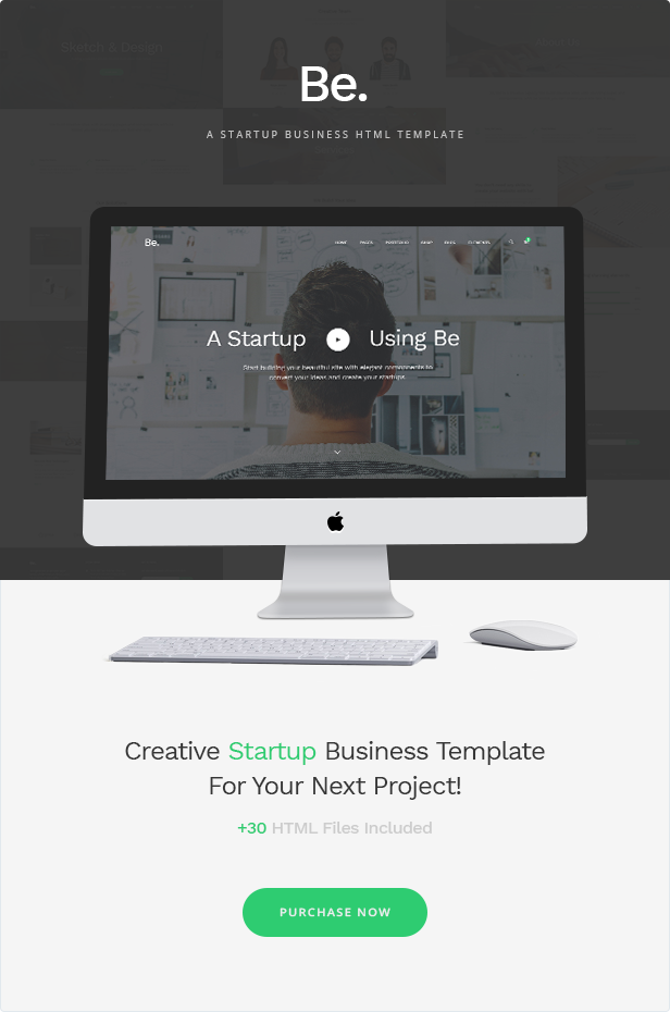 Be - Startup Business HTML Template - 2