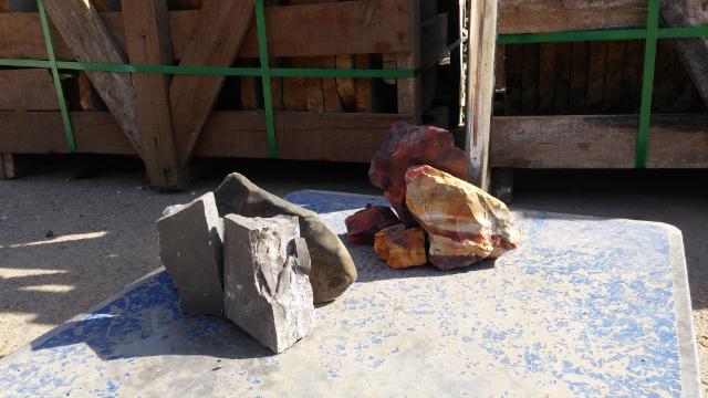 stone setup