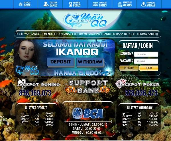 Situs Agen Poker, DominoQQ, toggel online, sabungayam , BandarQ, agen togel Terpercaya