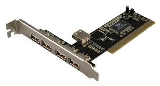 PCI USB 4 PORT