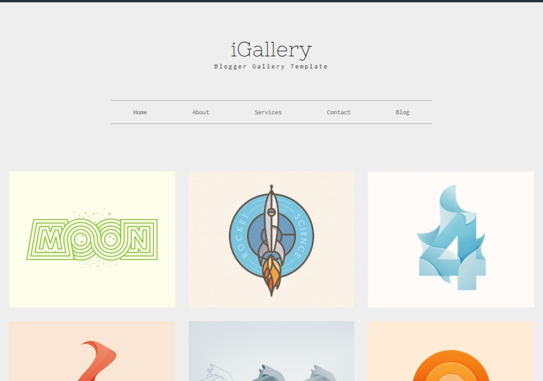 i_Gallery_Blogger_Template