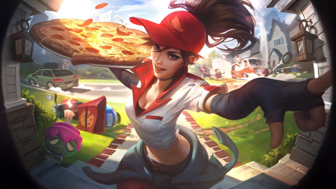 Sivir repartidora de pizzas