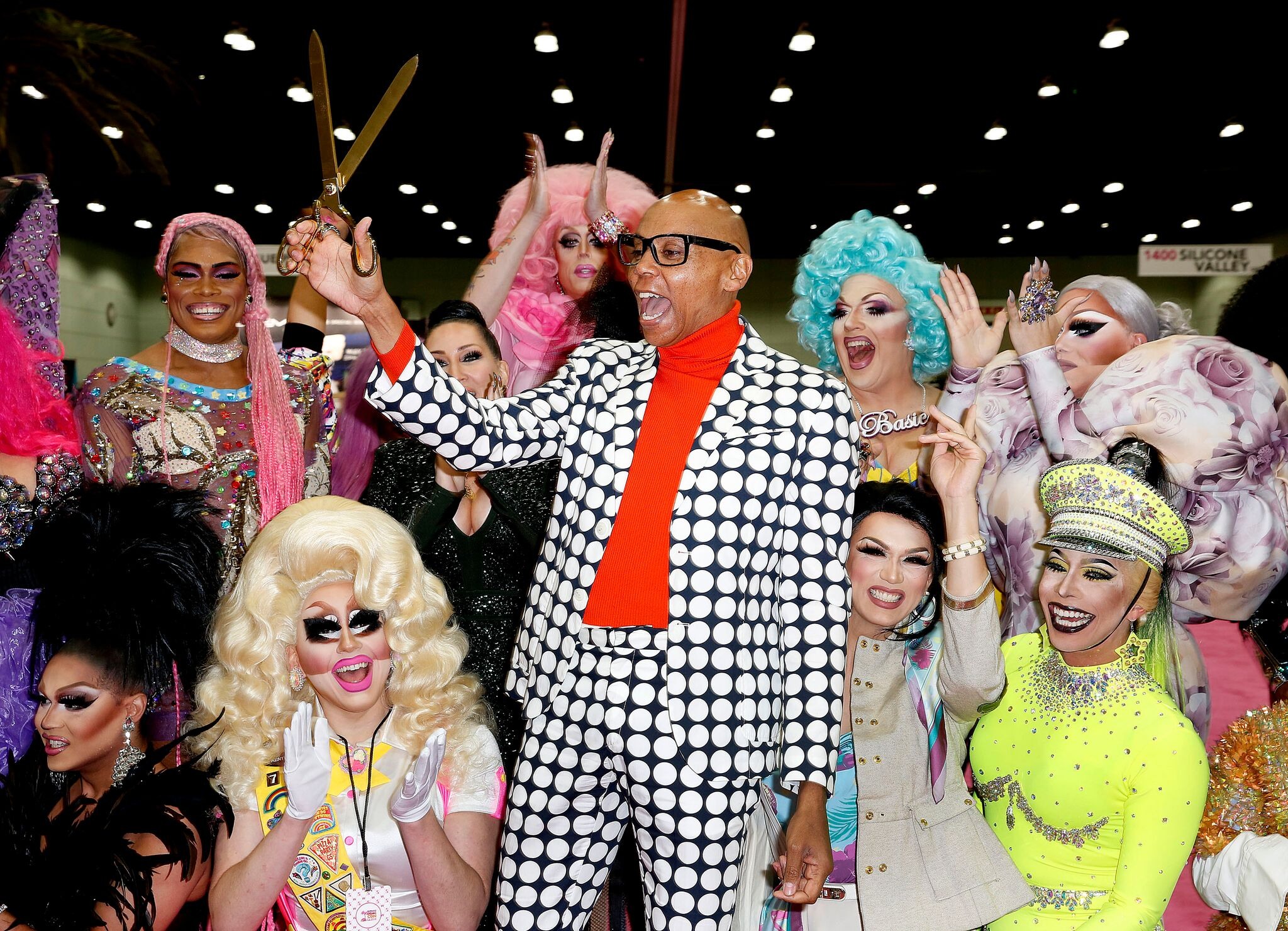 Ru Paul s Drag Con Ribbon Cutting