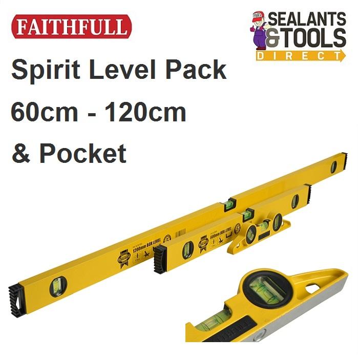 Faith Full Triple Spirit Level Pack XMS18LEVEL3