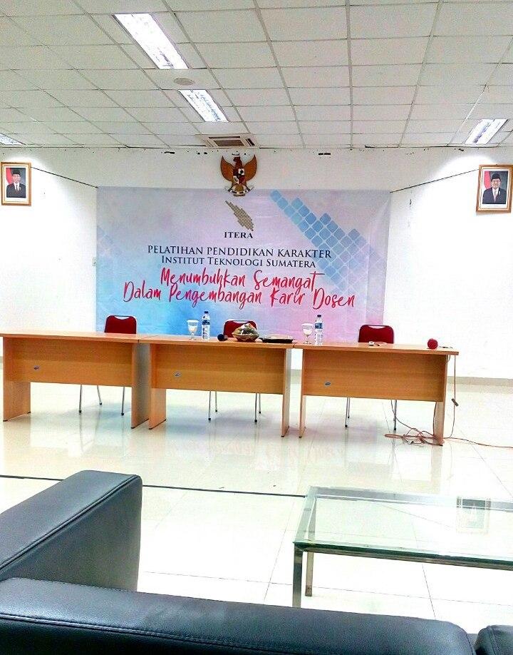 Pelatihan Pendidikan Karakter Dosen Institut Teknologi Sumatera