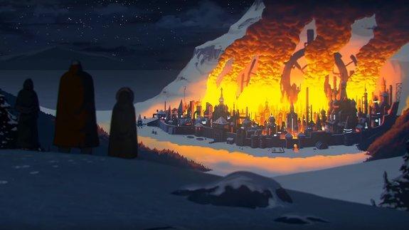 Трейлер мультфильма «Киберслав»: Древнеславянский киберпанк