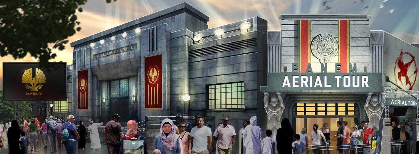 Hunger Games MOTIONGATE DUBAI