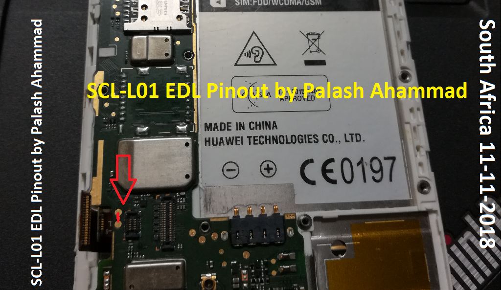 Huawei Y6 SCL-L01 Dead Boot Repair Done by EDL Mode [INFO] For Our
