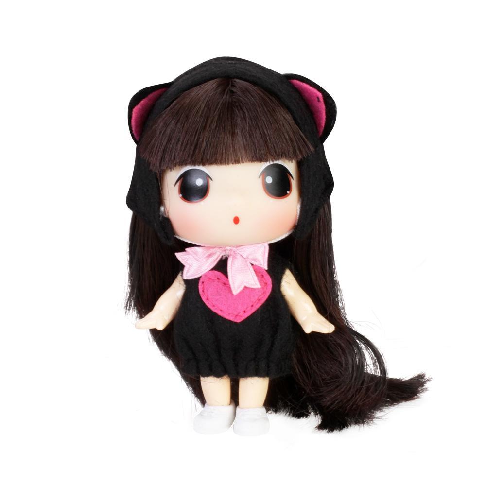 DDUNG DOU 9cm_fashion_doll_barbie_girl_cute_cartoon