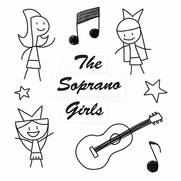 The Soprano Girls 2008 EP Cover