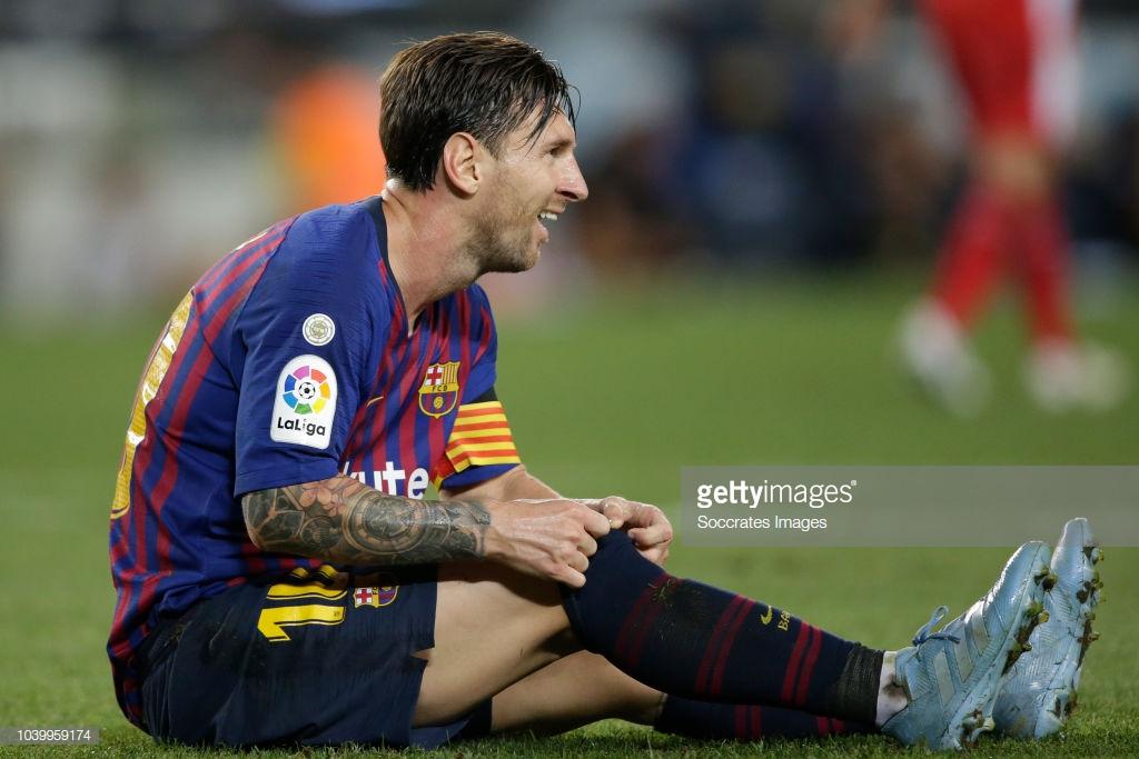 صور مباراة : برشلونة - جيرونا 2-2 ( 23-09-2018 )  L2