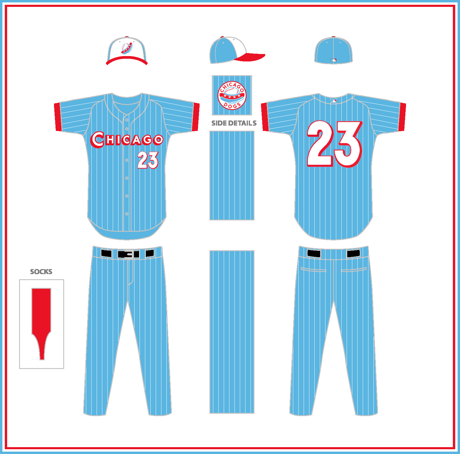 Chicago_Dogs_Road_w_Numbers_white_stripe