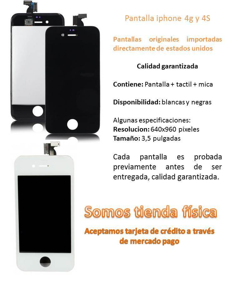 Pantalla Completa Iphone 4g/4s