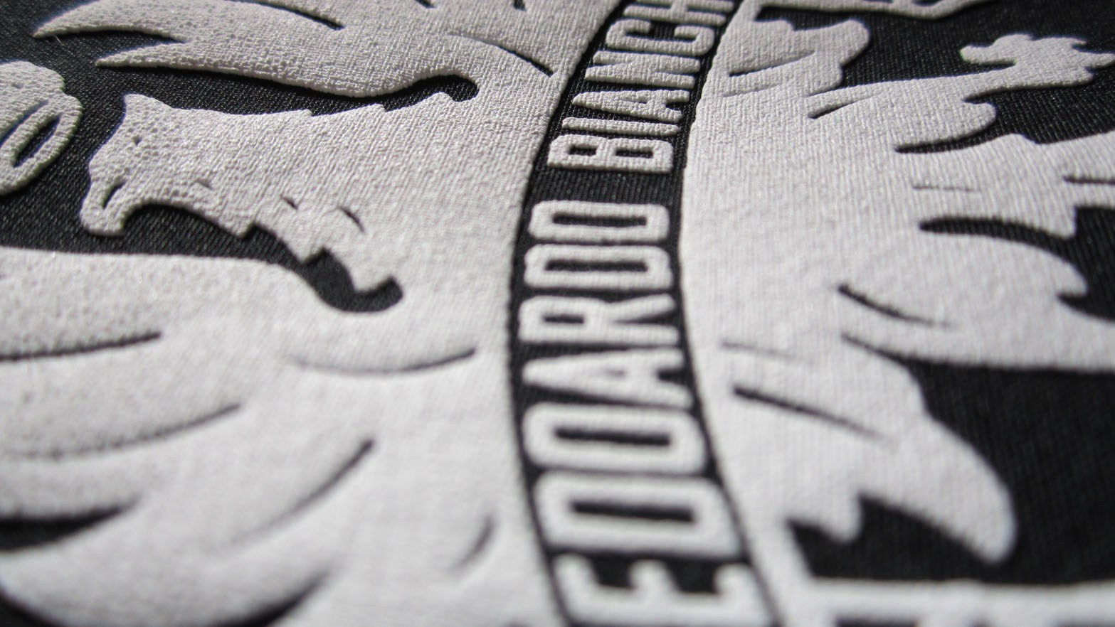 image of close up tshirt print