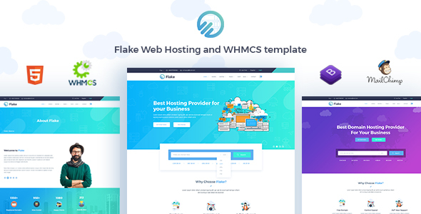 WHMCS 7 x - Flake Web Hosting and WHMCS Technology Template