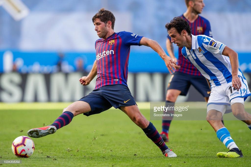 صور مباراة : ريال سوسيداد - برشلونة 1-2 ( 15-09-2018 ) S4