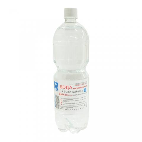 Дистиллированная вода п/эт 1.5л