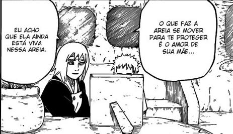 Como Gaara manteve seus Poderes depois de Perder a Biju Naruto548_09