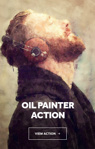 Oil Painter Photoshop Action