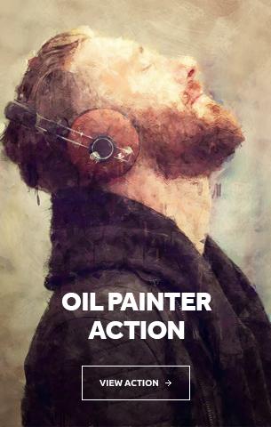 Oil Painter Photoshop Action