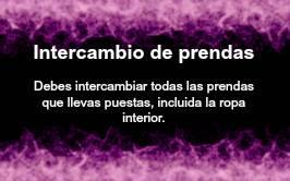 Ritual para los dados en el Sexcasino 1313 Intercambio_de_prendas