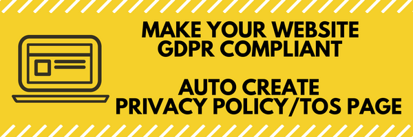 Legalize - Privacy Policy / Terms of Service Generator and EU Cookie Law Popup Plugin for WordPress