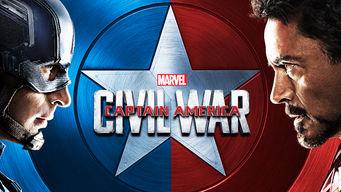 Imagen pelicula Captain America Civil War Netflix