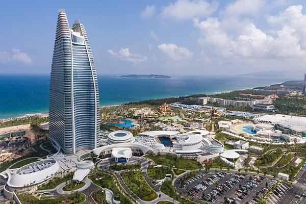 Resorts ATLANTIS (Bahamas - Dubai - Sanya - Shanghai - Hawaï) par Kerzner W869