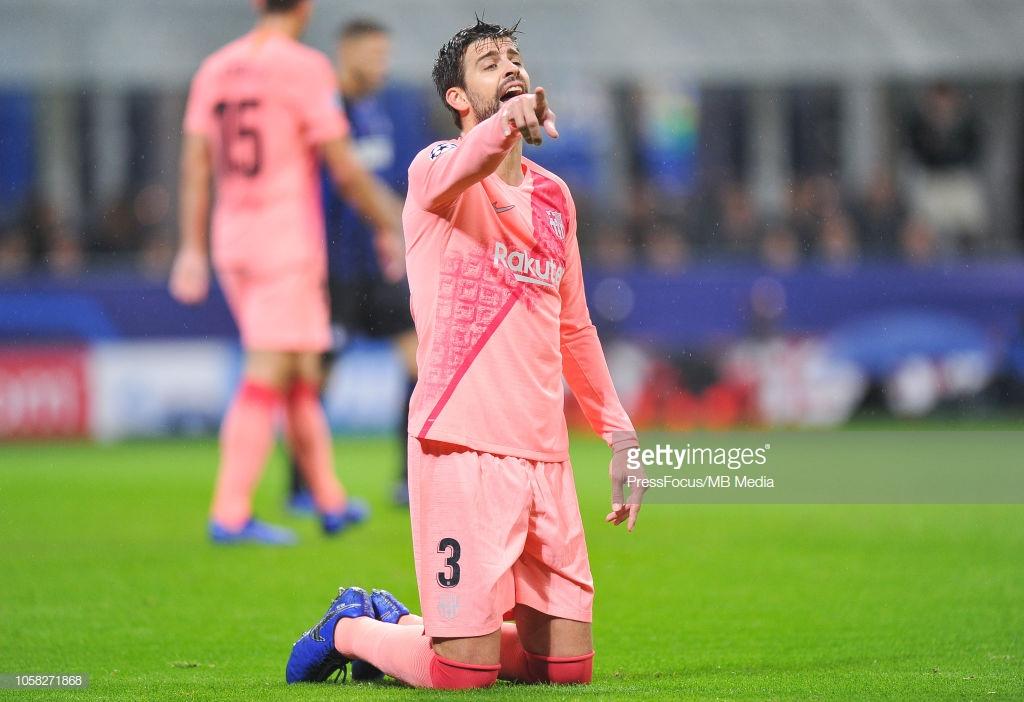 صور مباراة : إنتر ميلان - برشلونة 1-1 ( 06-11-2018 )  Y6