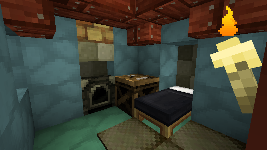 Animalist interior - jolicraft
