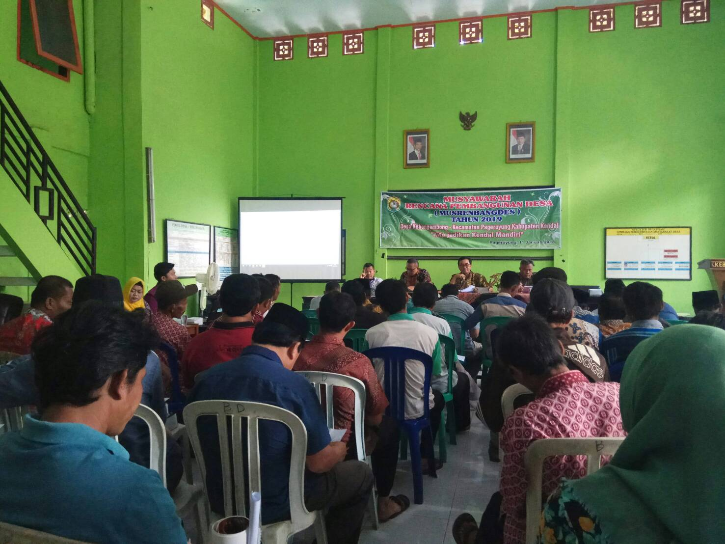 Musyawarah Rencana Pembangunan Desa (MUSRENBANGDES) Kebon Gembong