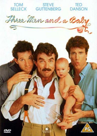 Trzech mężczyzn i dziecko / 3 Men and a Baby (1987) PL.AC3.DVDRip.XviD-GR4PE | Lektor PL