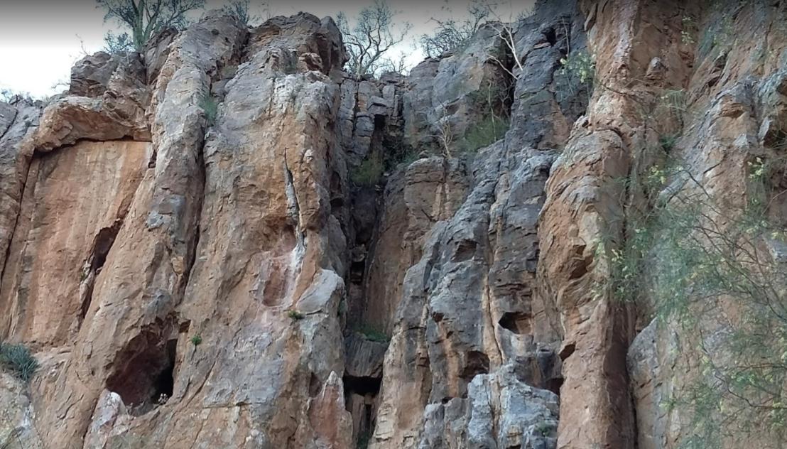 Posible cueva en Sonora Hh
