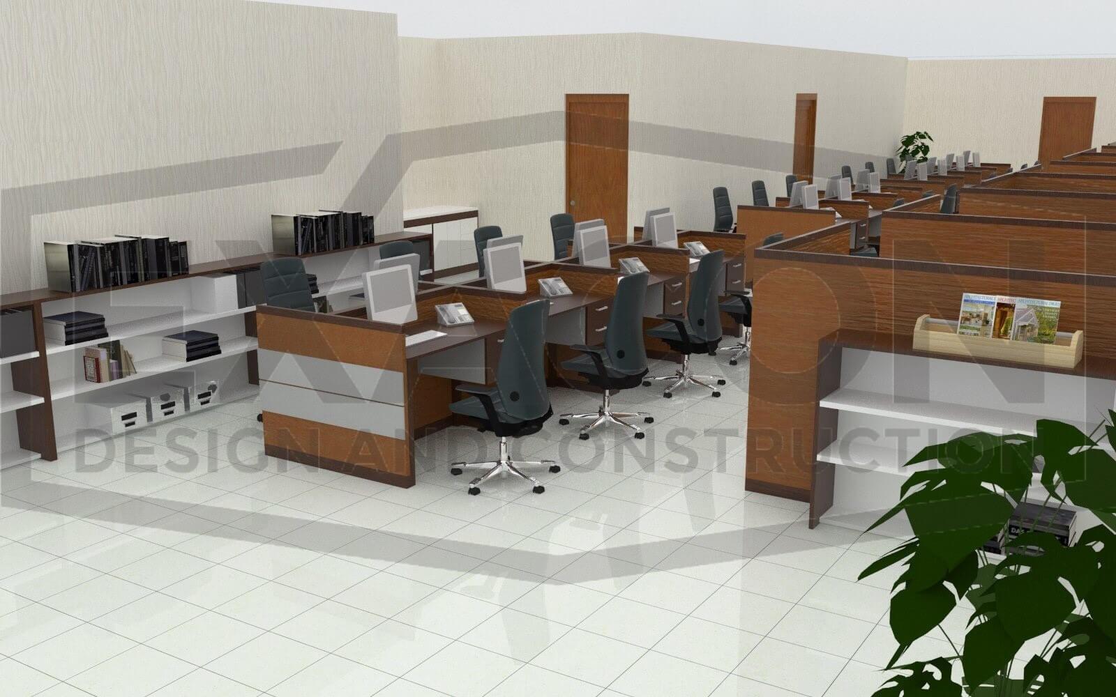 Proyek Desain Interior Kantor Badan Permusyawaratan Desa Tangerang