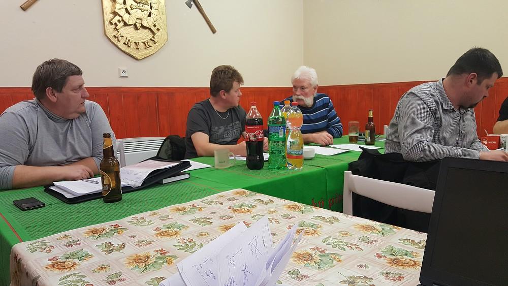 Výroční schůzka Okrsek Kryry 1