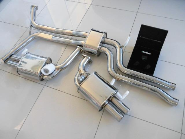 New Audi Rs6 Rs7 C7 Armytrix Cat Back Valvetronic Exhaust