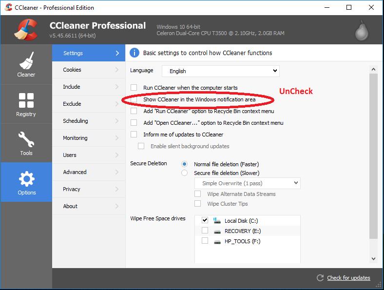 ccleaner 5.41 safe