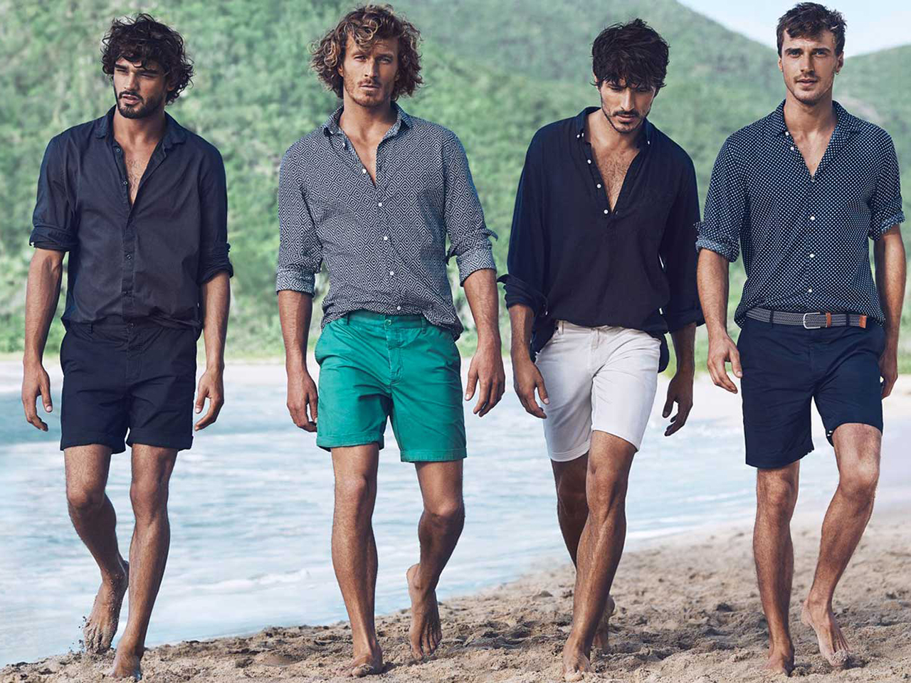 Fashionable men's trends summer 2018