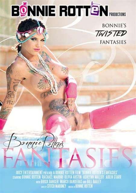 Bonnie Rotten's Fantasies (2016) XXX DVDRip x264 925MB