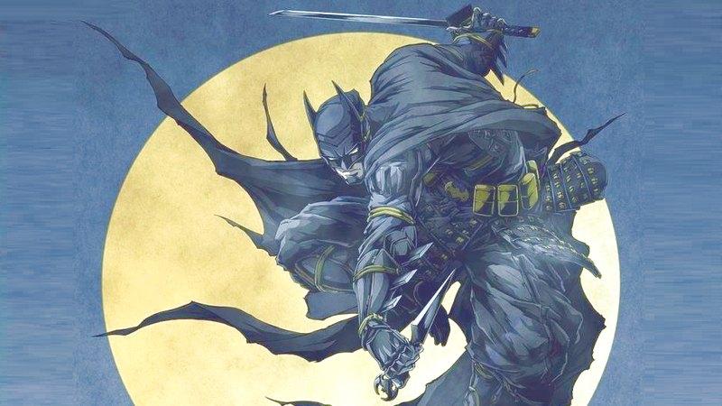 Batman trở thành Ninja trong phim Anime mới nhất