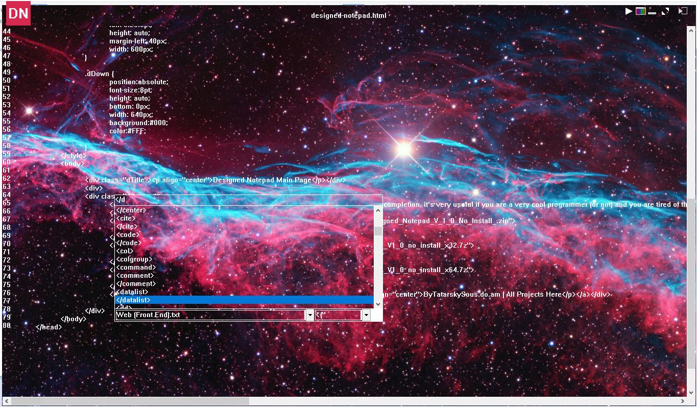 Designed Notepad 1.2 x86/x64 (2018) Multi/Русский