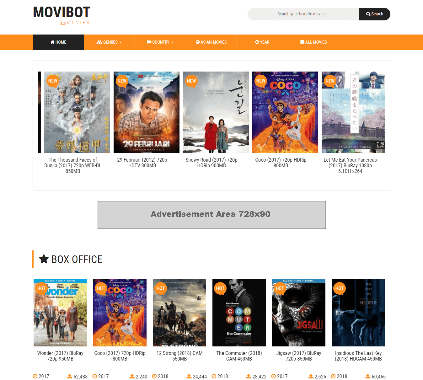 Movibot 2.0 - Automatic Movie Download Site Maker (PHP Script)