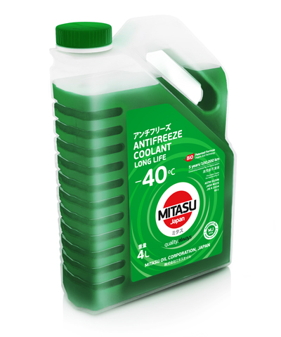 Антифриз MITASU GREEN -40 4л